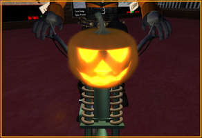 Pumpkin Patch Rider in detail by truemouse