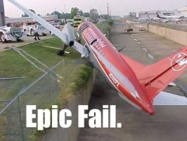 EPIC FAIL PLANE by cobalt900