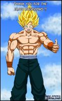 -Thank you- 15,000 pageviews by DBZwarrior