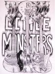 Little Monsters guitar by cynthiardematteo