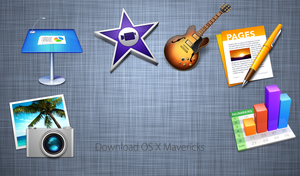 Mavericks icon for Windows .ico n png by Shaiderali