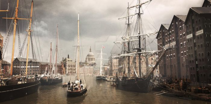 London Docks by RockhopperVFX