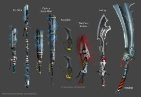 CotV Melee Weapons by dinmoney