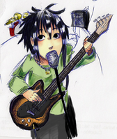 Kei with bass by Momorsa