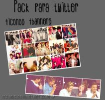One Direction {Iconos+banners} by ItzyriB