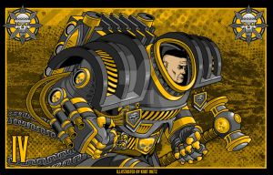 T-4-Perturabo the brooding-Desktop by Lord-Solar