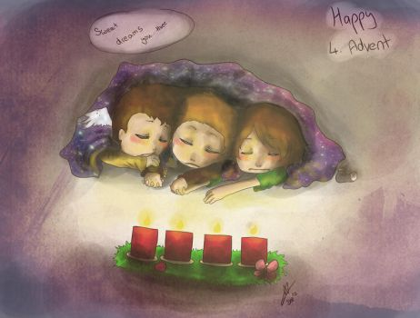 SPN: Happy 4. Advent by yuminica