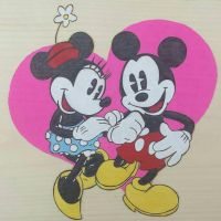 Mickey Mouse (Colored) by Pyroglyphica