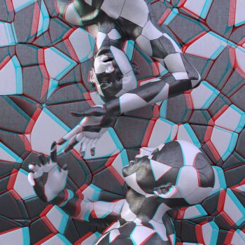 the puzzle approach (stereoscopic) by deignis