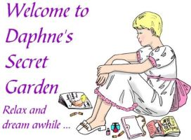 My garden's first title page by Daphnesecretgarden