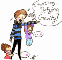 Defying Gravity by Crystal2Cat