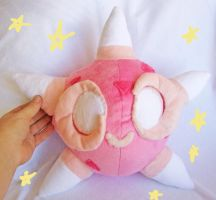 Pink Minior plush by scilk