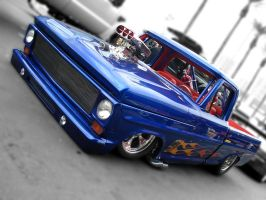 Wild Ford pickup by munza99uk