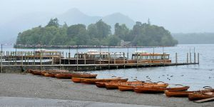 Boats by the lake 1 - Keswick by wildplaces