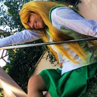 Highschool of the DEAD || I dare you by CosplayArtOnlineGR