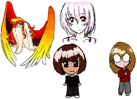 iScribble doodles 1 by StarRaven