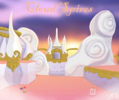 Cloud Spires by GuardianDragon1