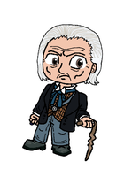 The First Doctor by uhnevermind