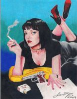 Pulp Fiction by LaurenTirroArt