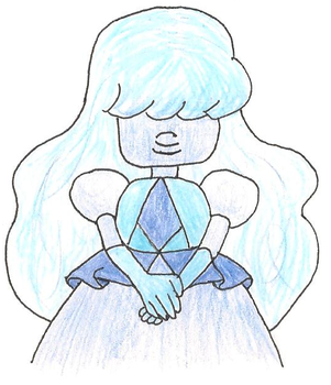 Sapphire doodle by OhNoDraws