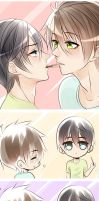 MakoHaru POCKY DAY11/11 by SinfulHime