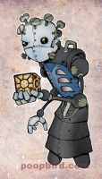mecha-pinhead by poopbird