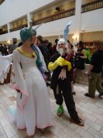 Celestia and Discord by KrazyCatQueen