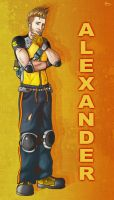 Alexander Gavens Poster by biscuit-the-great