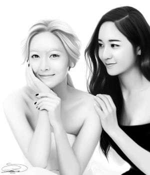 ~Yin and Yang: Sisters Jung~ by z-jihye-lee