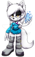 .: Jade The Arctic Wolf :. ::COM:: by BunnyVirus