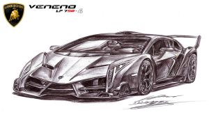 Lamborghini Veneno LP750-4 Ultimate Exotic by toyonda