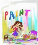 painting story book pages by eydii
