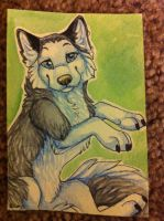 Iron Artist Challenge ACEO 20 by nightspiritwing