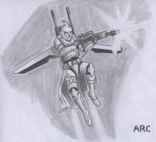ARC Trooper Concept by Grafs