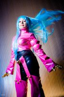 Ice-pink fighter by MadeinPlute