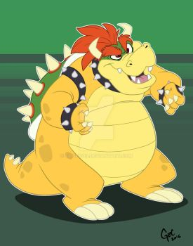 Bowser Day 2016 by Eligecos