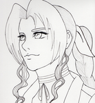 Aerith WIP by Mayleth