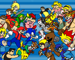 Smash Bros VS All Stars by DaFunB0XMaN