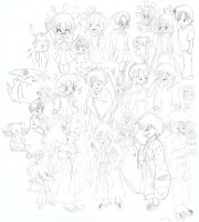 Group Anime by Roadhouse-Hunter