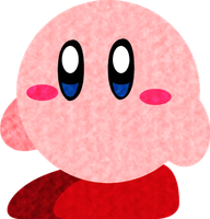 Paper Kirby by SillyEwe