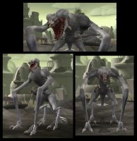 Spore: Cloverfield Monster by Sontine