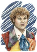 The 6th Doctor by JRtheMonsterboy