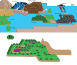Unfinished Mario World Map by leduc-gallery