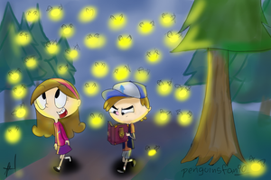 Fireflies by penguinsfan90