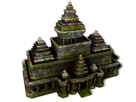 Old Temple by Dougernaut