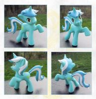 My Little Pony Lyra McDonalds Custom by kaizerin