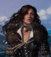 Yennefer Wild Hunt by Erika-Xero