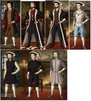 Kings of France in 1500s by TFfan234