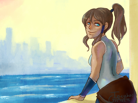 Korra by IncubusGrave