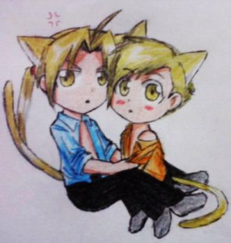 He's MINE! .::Elricest::. by fullmetaledward01